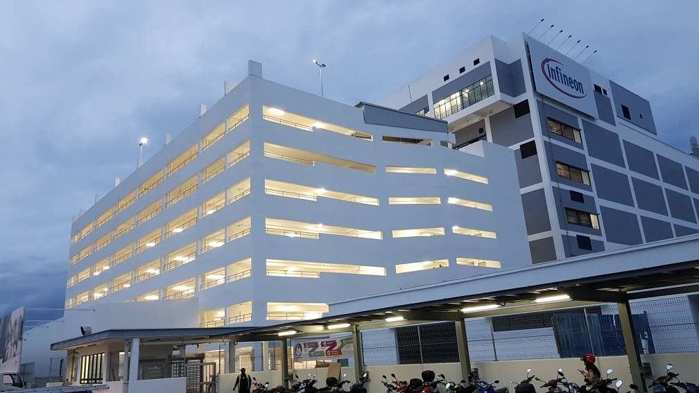 KC LAU ARCHITECT :: Infineon Semiconductor Manufacturing Plant - 6